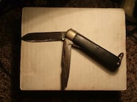 Antique Camillus Military Knife & Flathead Moss Point