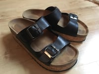 leather sandals 38