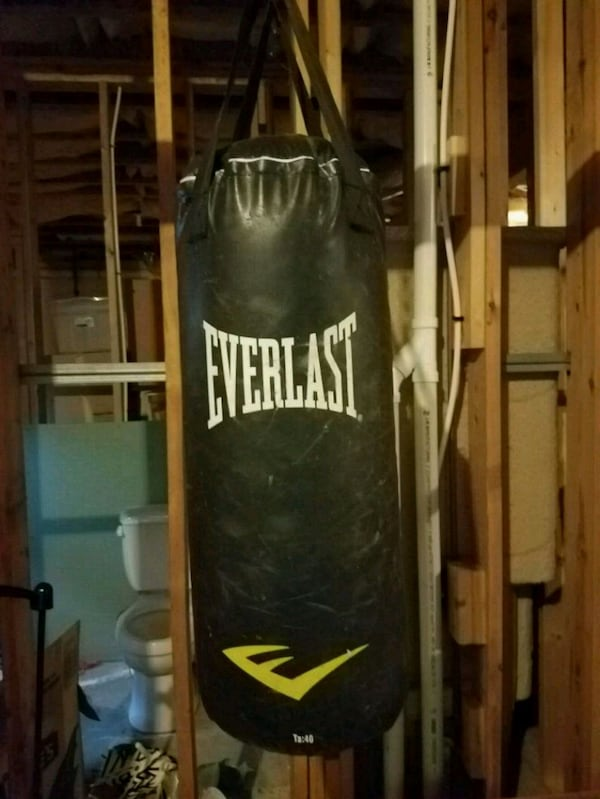 Used Hang Up Punching Bag For In