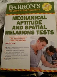Barron's Mechanical Aptitute And Spatial Relations Knoxville, 37912