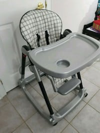 Peg Perego high chair. 50.00 Mississauga, L5W 1P9
