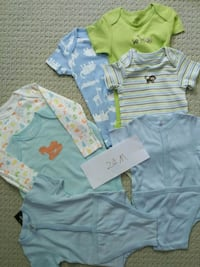 Brand new 24m body suits and diaper shirts Markham, L6C