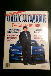 Classic Automobile magazine. Premiere issue. The cars of Jay Leno.