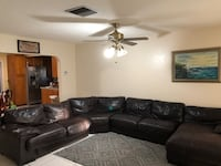 Leather couches sectional  Hollywood, 33024