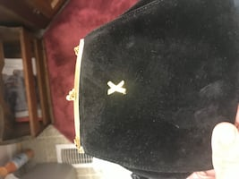 Suede Paloma Picasso coin purse