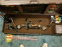 brown and black compound bow Bangor, 49013