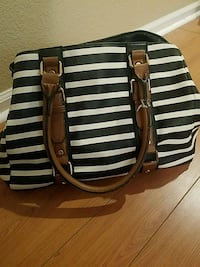 Black and white striped purse Brighton, 80601