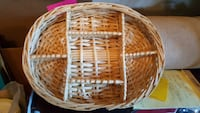 Wicker basket with dividers Winchester, 22601