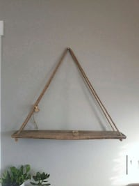 Hand crafted hanging shelf Lincoln, L0R 2E0