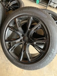 Srt style rims and tires Youngstown, 44512
