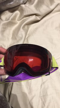 red Akley framed snow goggle Penticton, V2A 8T1