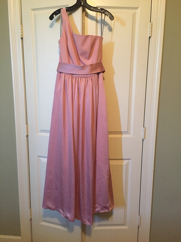 Ballet pink bridesmaid dress size 10 excellent condition worn once