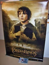 HUGE 4ft×6ft Lord of the Rings Bus Stop Poster Fort Worth, 76119