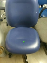 blue swivel chair Austin, 78756
