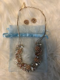 brand new Necklace with earrings Mississauga, L5G 4W1