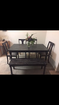 6 Pc Burntwood Dining Set
