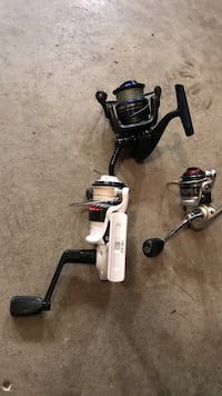High quality fishing rods, reels, and tackle 12 mi