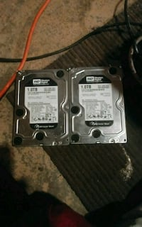 Two 1tb hard drives for desktop