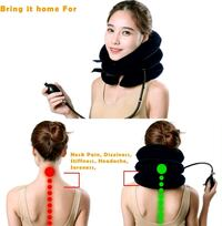Neck inflatable traction device  Montreal, H4E 2Z8
