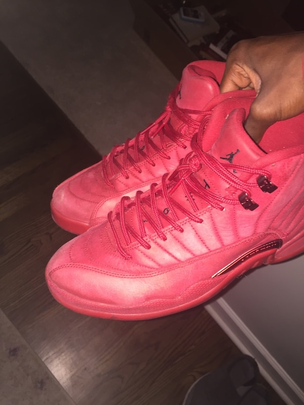 newest 13aa7 a4e75 Retro 12 Gym Red
