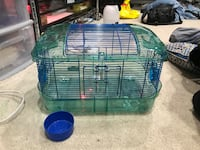 Hamster Cage and Bowl 33 km