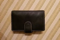 black leather bi-fold wallet Montgomery Village, 20886