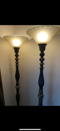 Two beautiful marble lamps Calgary, T1Y 1X7