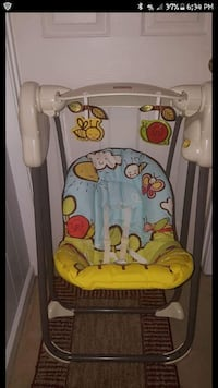 Fisher Price Musical Projection Swing Stafford, 22556