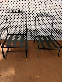 Pair of Wrought Iron Armchairs ( $40 for both) Gloucester County, 08051