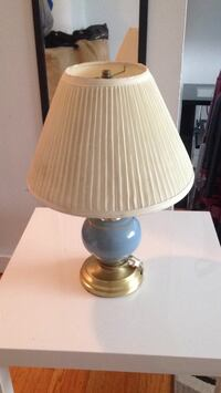 white and blue table lamp Winnipeg, R2M