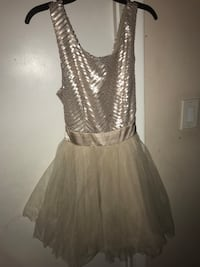 Champagne gold party dress  Rockville, 20853