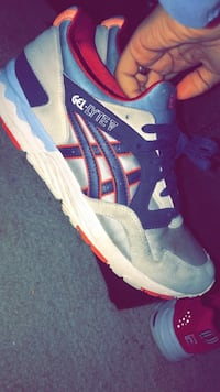 pair of blue-and-white Reebok running shoes Murfreesboro, 37130