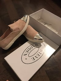 BRAND NEW: STEVE MADDEN Linny Pink Suede Shoes SIZE 6.5US