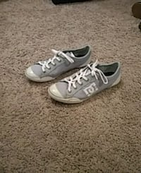 pair of gray Converse All Star low-top sneakers Midwest City, 73110
