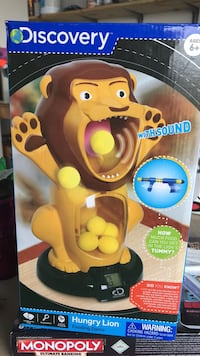 Hungry Lion feeding game (has been played, missing 1 ball) Kingsport, 37660