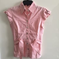 top rosa button-up