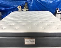 "14"" thick luxury 1 sided pillow top mattress. Price includes tax & local delivery. Cash only.   Twin Mattress only-$199 Mattress & Box spring, or bunky-$240  Full Mattress only-$255 Mattress & Box spring, or bunky-$299  Queen Mattress only-$325 Mattress Huntington Beach, 92649"
