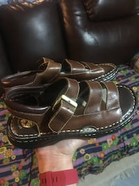 Genuine nice brown leather sandal for youth size 5 Edmonton, T5P 4H5