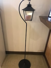 Metal Pole Lantern with Candle Lite Prospect Heights, 60070