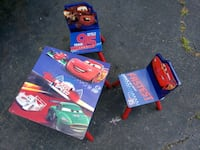 Lightening Mcqueen table and chairs Annandale, 22003