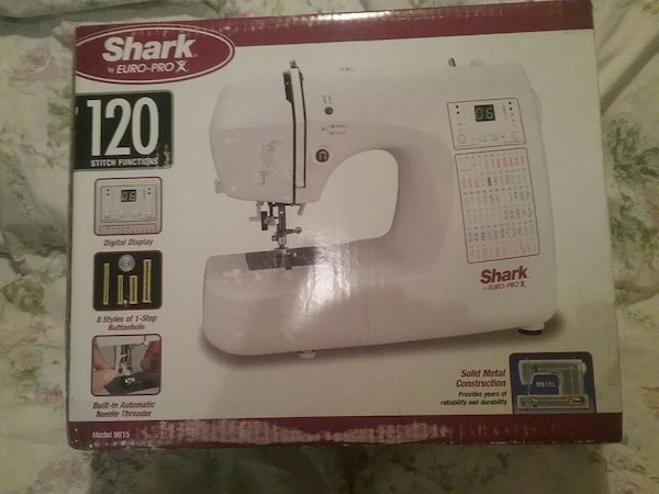 Used Shark White Sewing Machine For Sale In Morgan Hill Letgo Custom Shark Automatic Sewing Machine