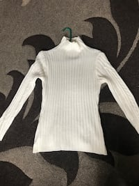White Knit Sweater - Small/Medium