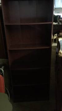 brown wooden 3-layer shelf London, N6A 1G1