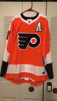 Flyers Signed Simmonds Jersey , 19018