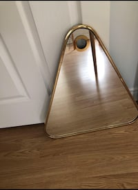 Gold Triangle Mirror Vaughan