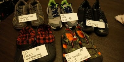 *Available* Boys shoes size 13 - 5 **all shoes $8 & under