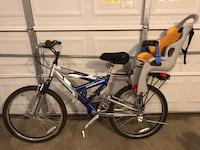 Adult bike with child seat Frederick, 21704