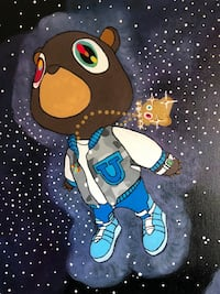 Yeezy Dropout Bear Painting Centreville, 20121