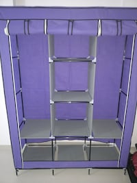 gray and purple metal rack Dombivli