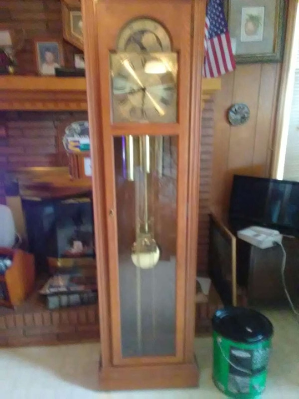 Used Pulaski Furniture Grandfather Clock For Sale In Greer